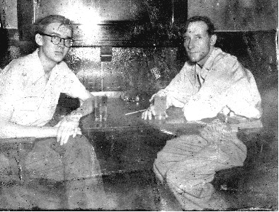 Foto 1 - Lewis Marker y William Burroughs