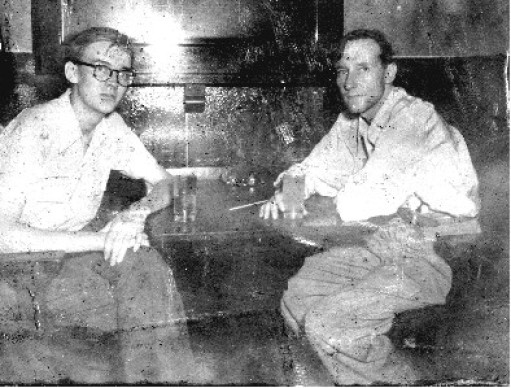 Foto 1 - Lewis Marker y William Burroughs